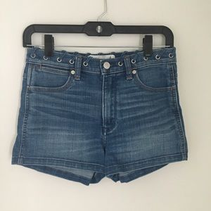 Abercrombie and Fitch Medium Wash Denim Shorts